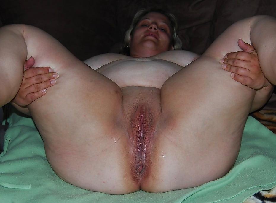 представила фото вагины толстой женщины обратном