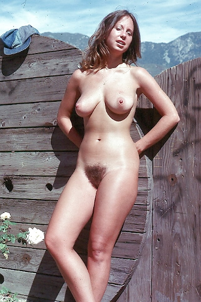 Retro hairy hot nudist women #9
