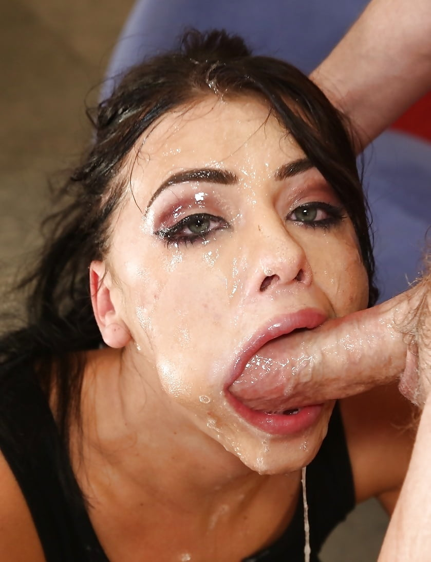 Sexy Sloppy Blowjob! Deep Throat N Swallow All The Cum!