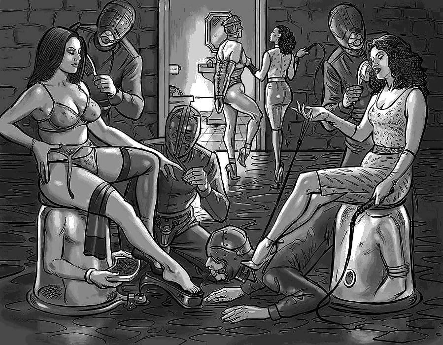 Male femdom stories initiation