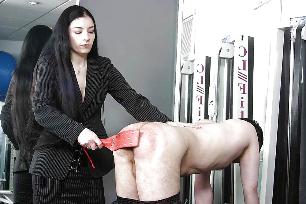 Anal chastity femdom domestic discipline