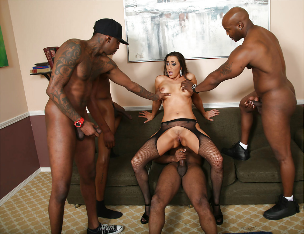 My Wife's First Gangbang Experience