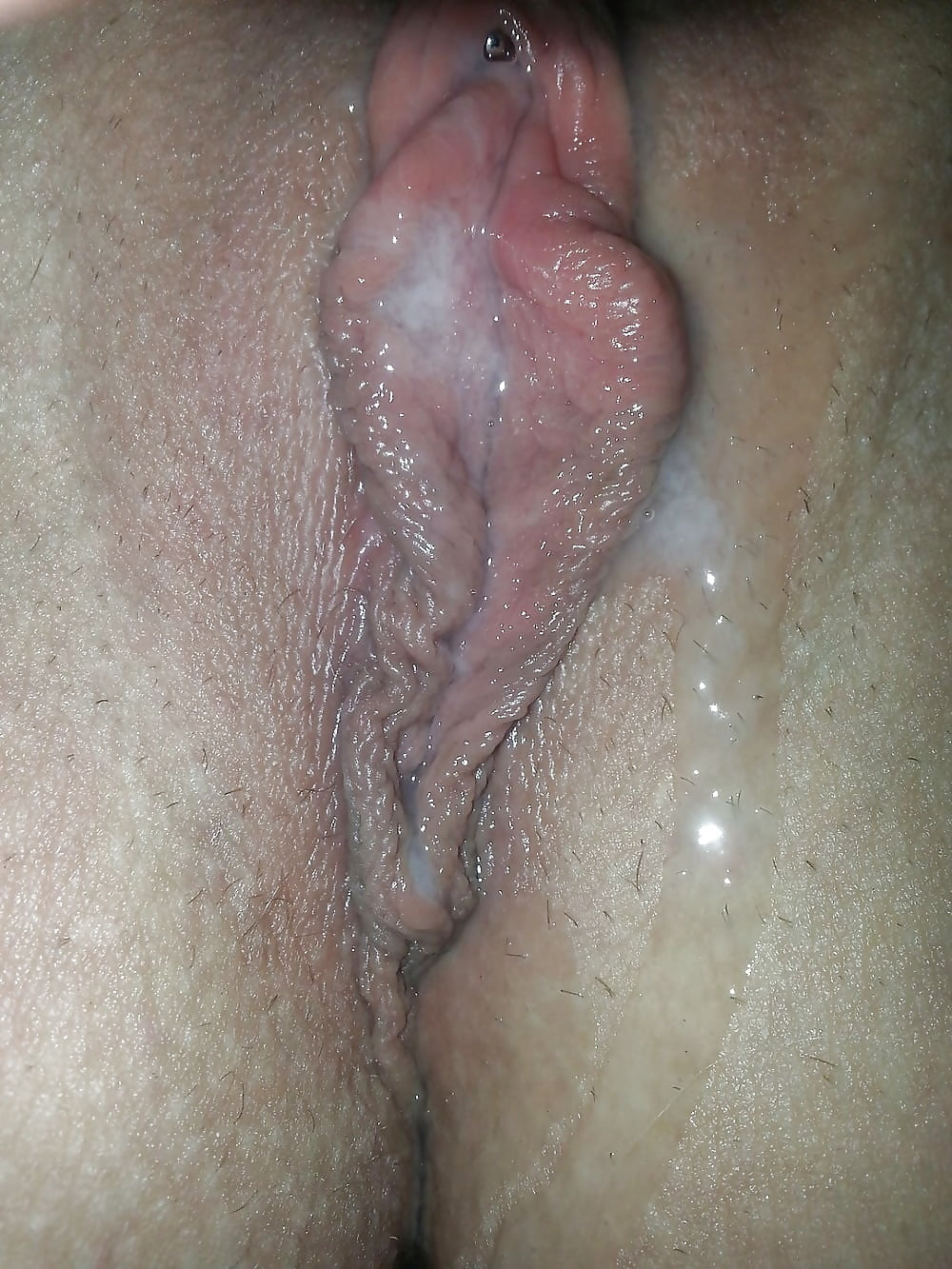 Cumming All Over My Hand Using My Wand, Creamy Pussy