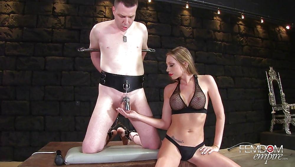 Femdom chastity literotica
