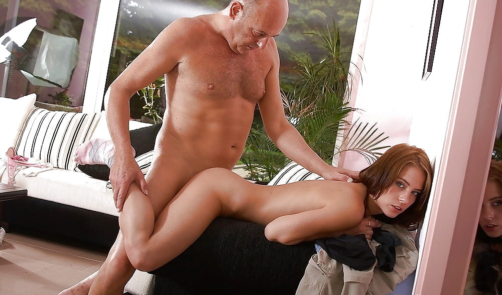 Two Horny Teens Fuck By A Hot Neighbor