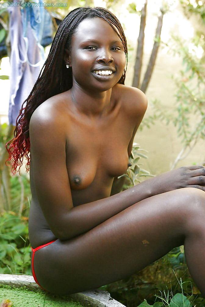 African girl nude