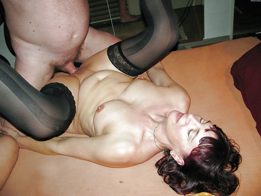 Screwed asshole of russian whore gets fucked hard while she gives a head to another cock