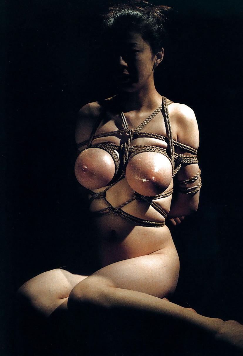 Asian Breast Bondage