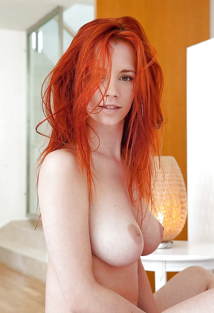 Big boob hair red — 11