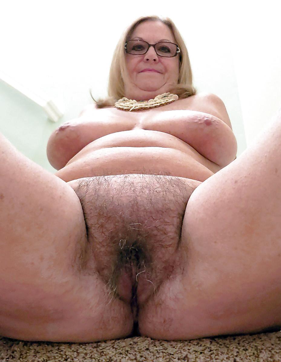 Fat ugly hairy granny