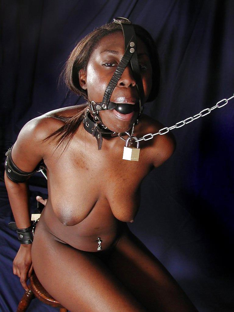 Black rough bondage ebony