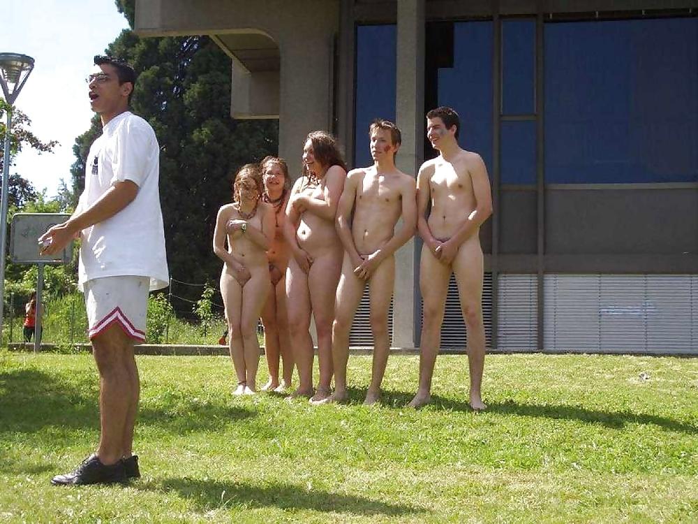 Nude public spring break
