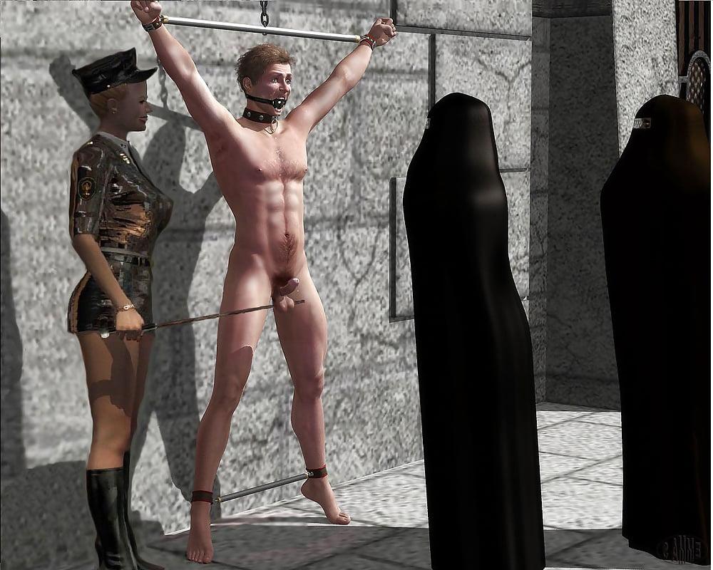 Naked Roman Male Slave Auction