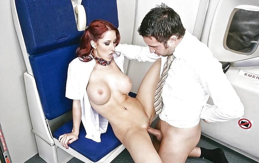 Air Hostess Fuck In The Plane Porn Pics