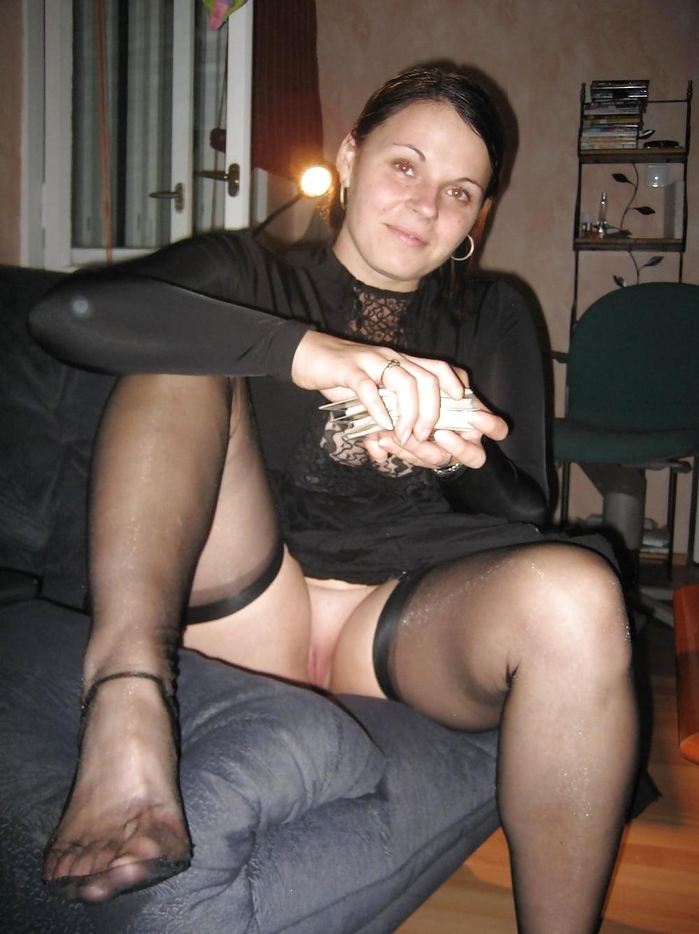 Pics stocking amateur Women in
