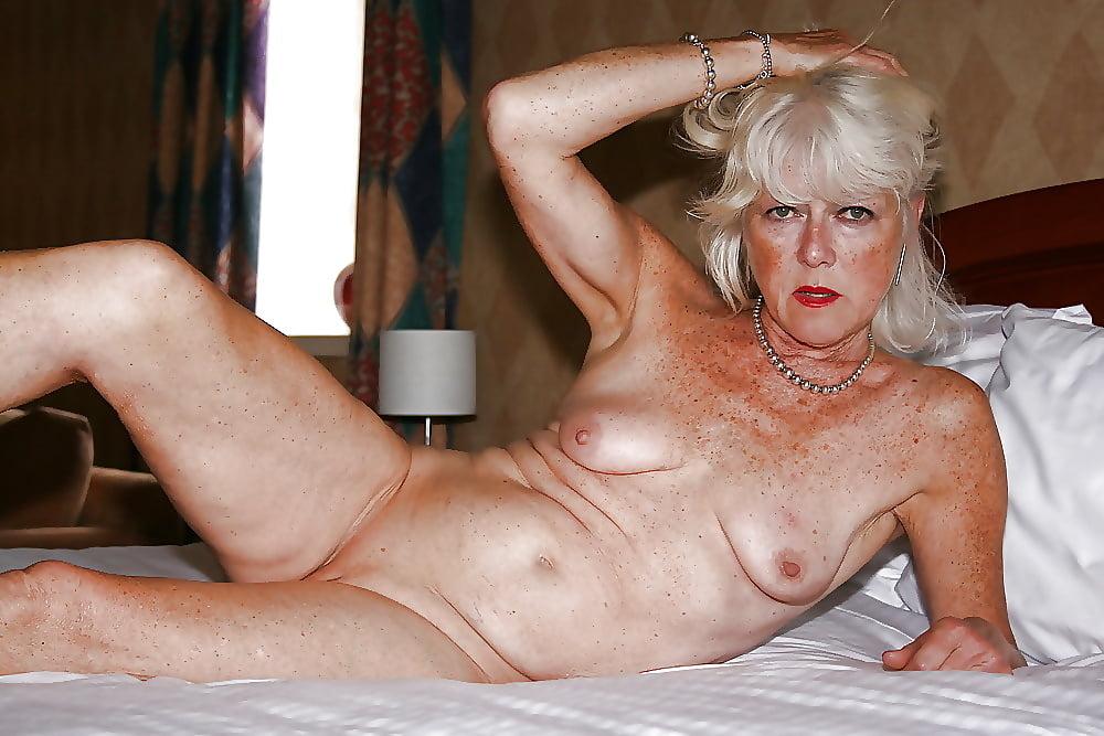 Sexy Naked Granny