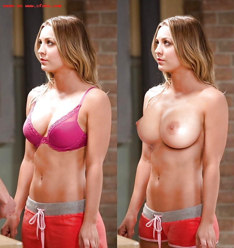 Kaley Cuoco Topless