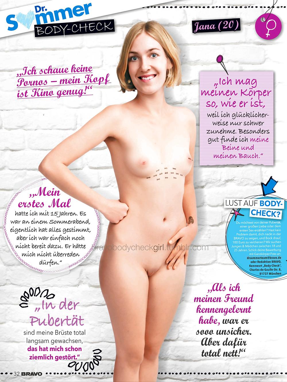 In mädchen bravo nackt German Porno