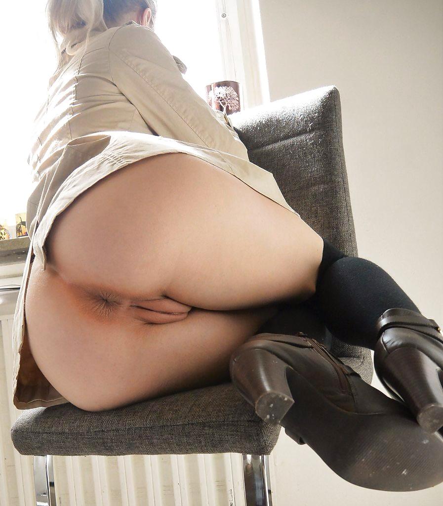 Milf Upskirt No Panties