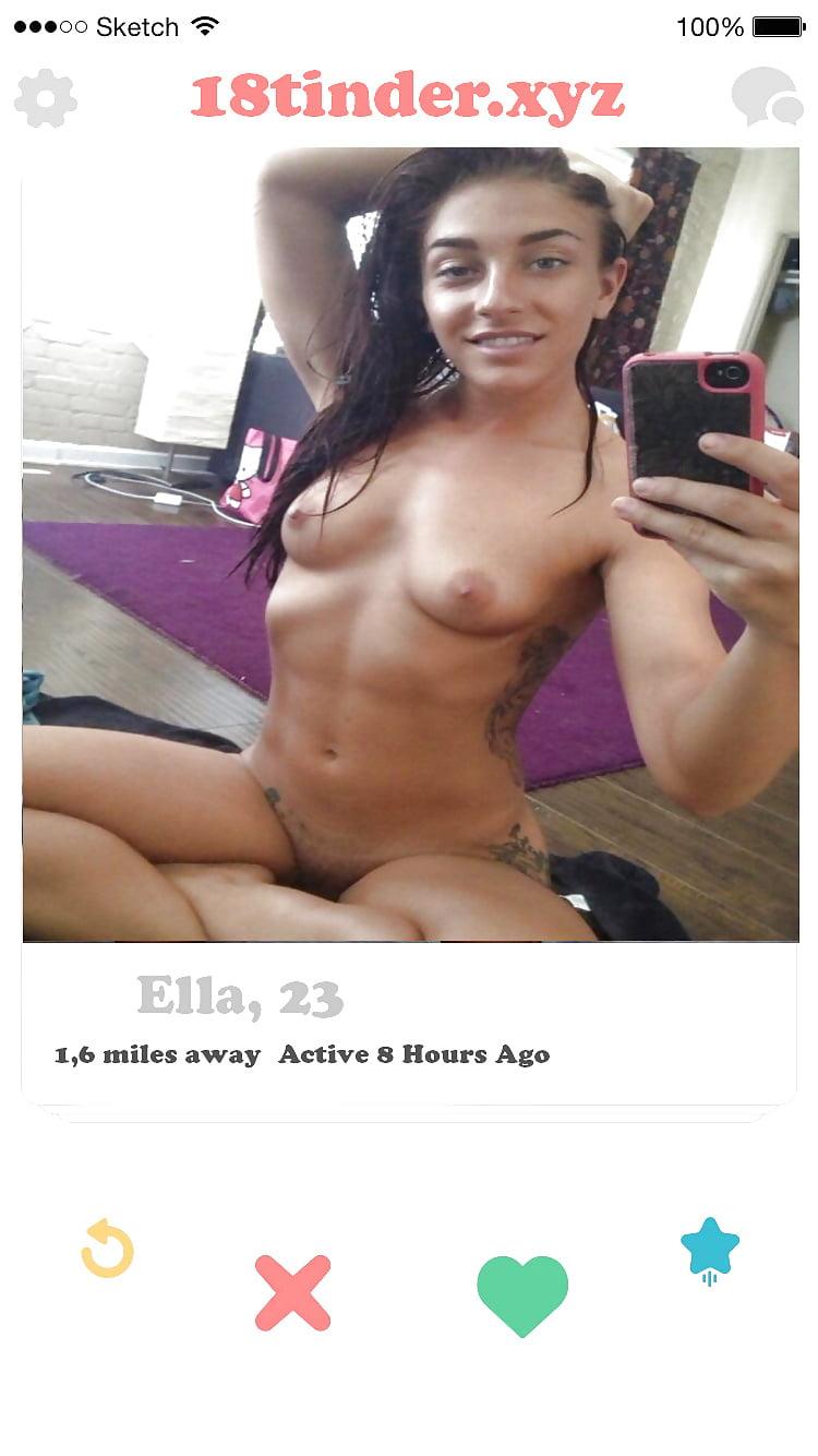 Nude tinder babes Dirty Tinder