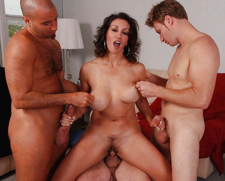 Search hairy anal threesome