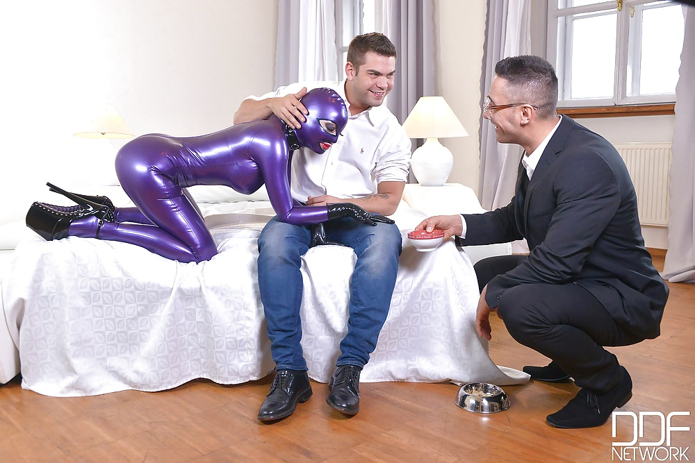 Ddfporn Latex Lucy Spanking Therapy Part Erosberry 1