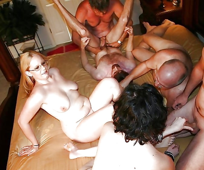Real homemade swingers party