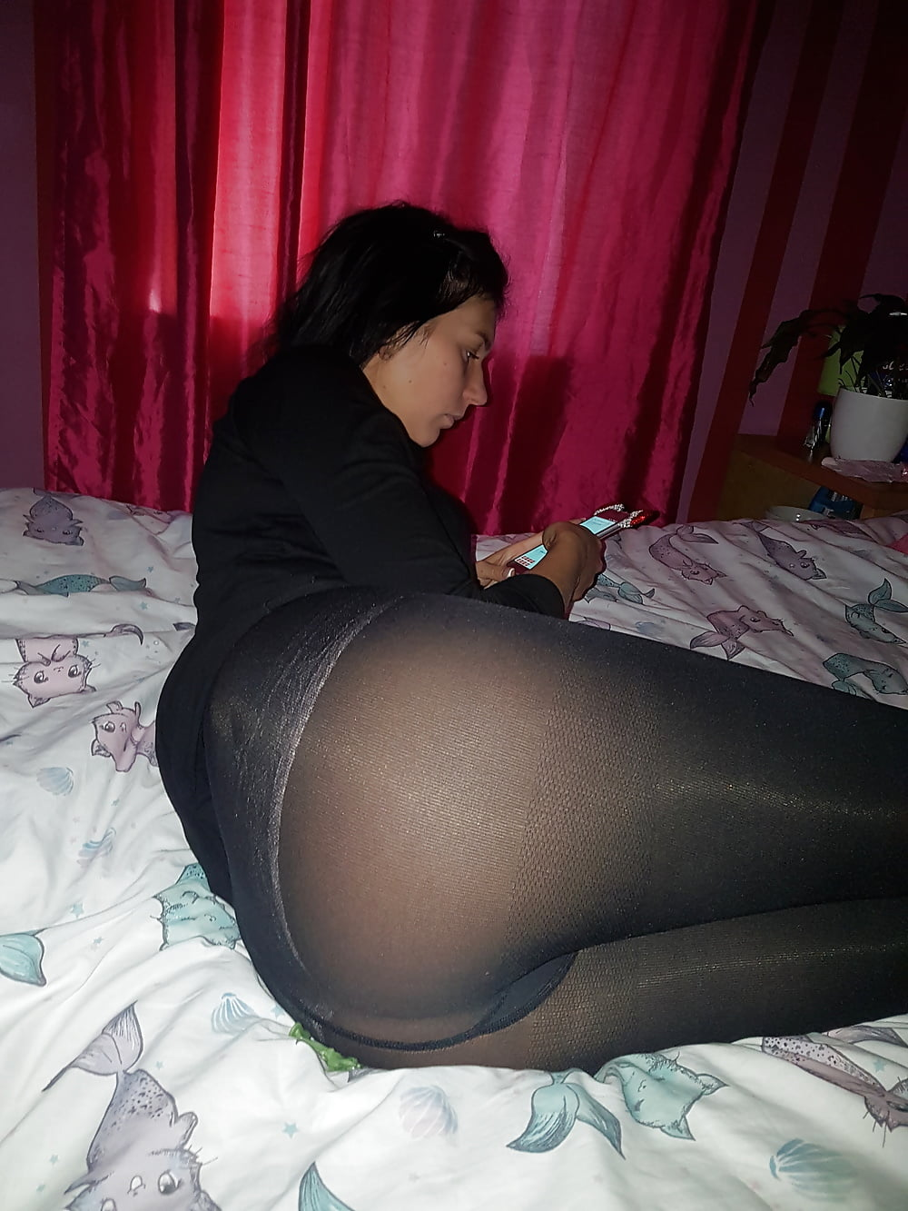 Pantyhose wife in How I