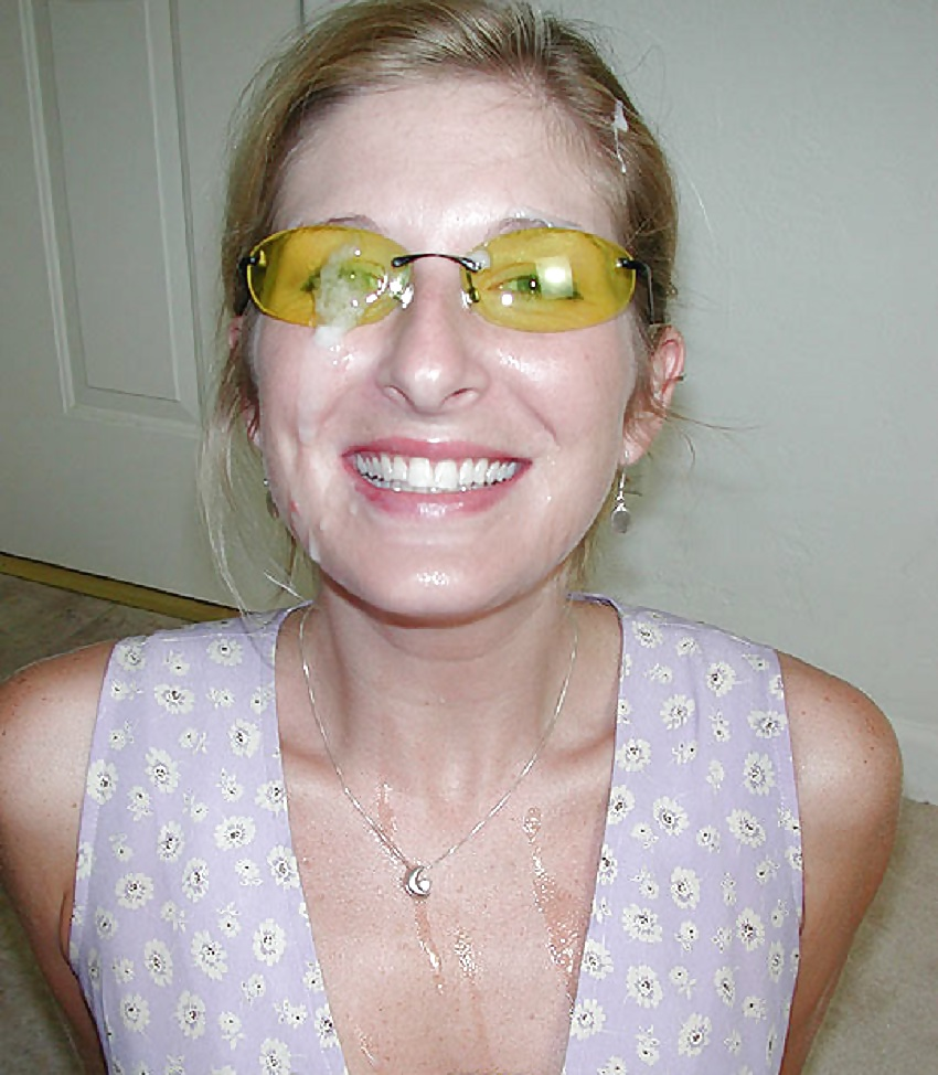 Mature faces wearing glasses