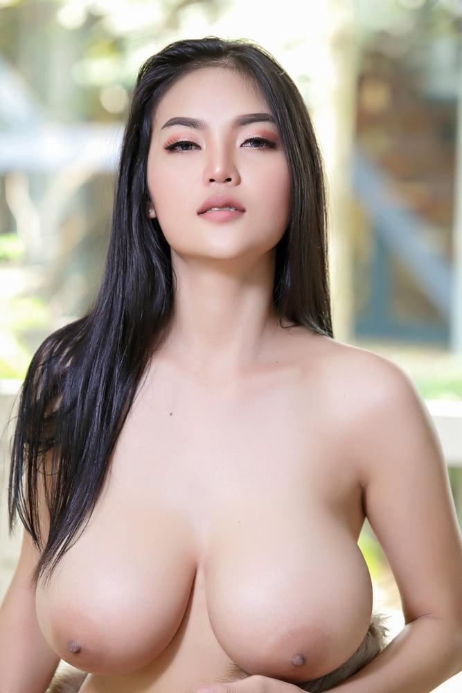 Asian tits model