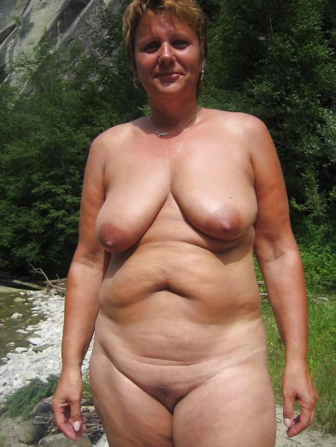 Russian granny nudist
