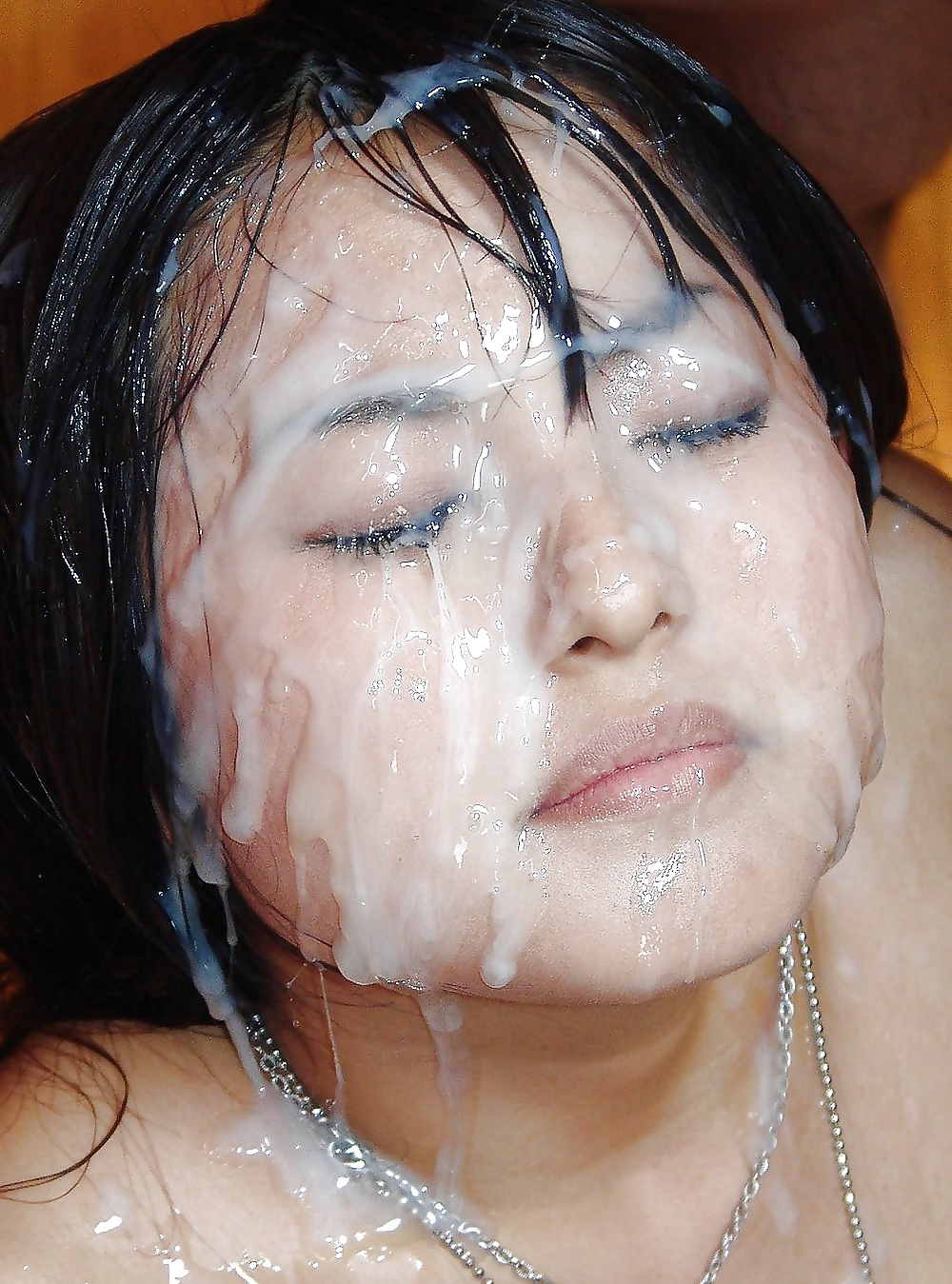 Cover her face bukkake