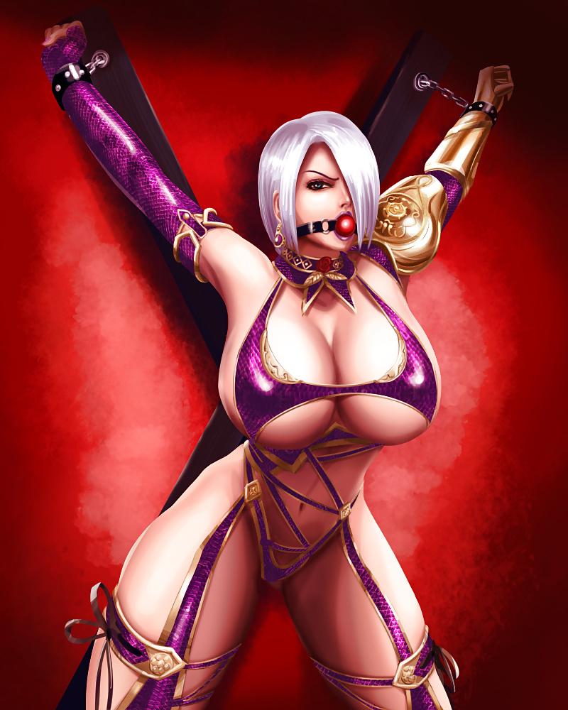 Cartoon Crying Soul Calibur Cartoon Porn Astaroth Soul Calibur Axe Bad Anatomy Blue Hair