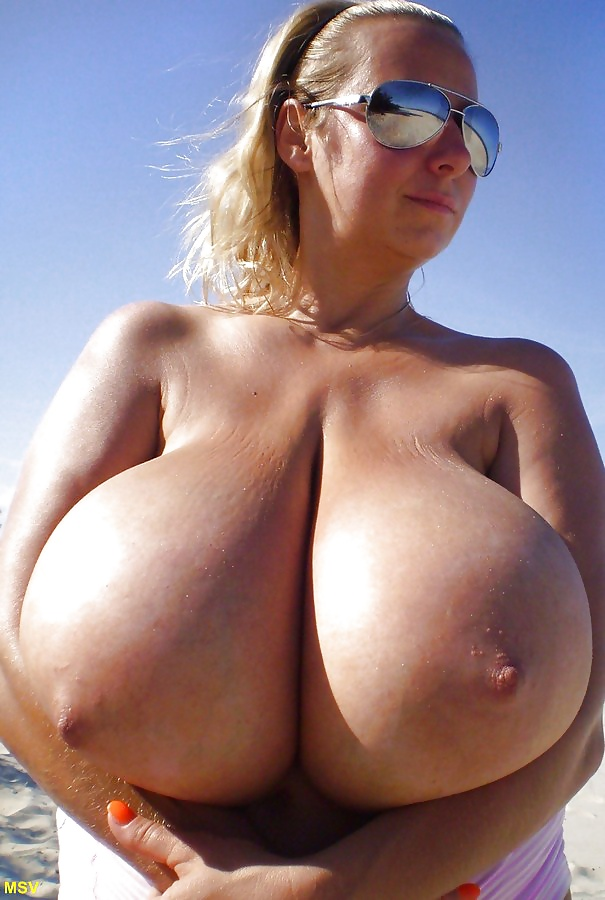 Worlds Biggest Natural Tits