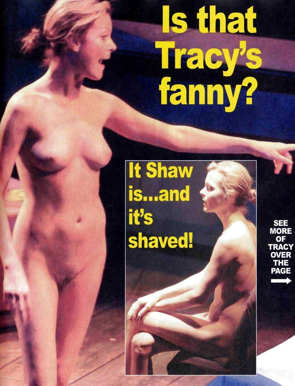 Tracy shaw topless photo