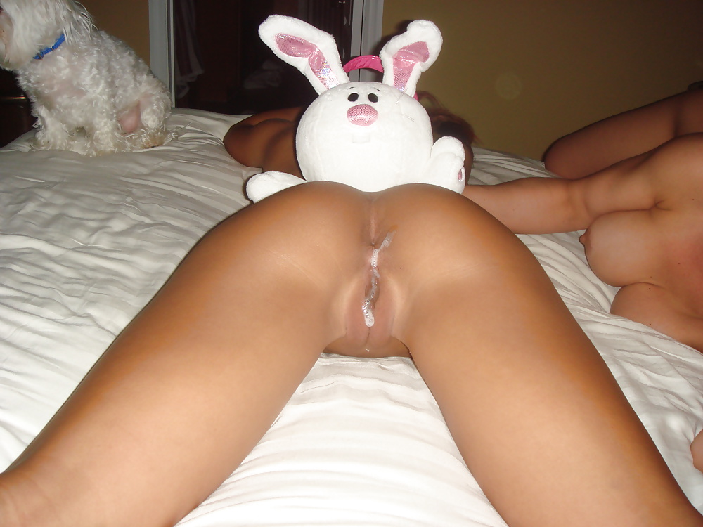 First juicy bunny pussy