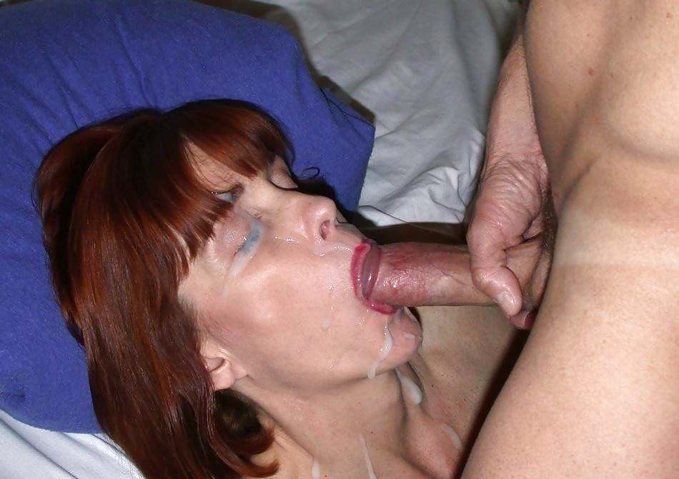 Mature huge tits strapon