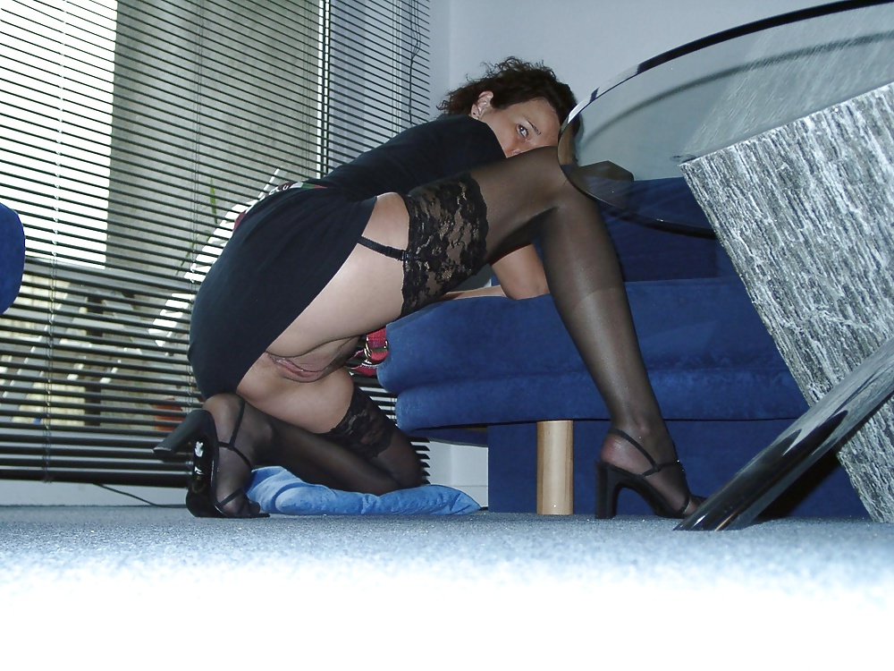 Stockings voyeur