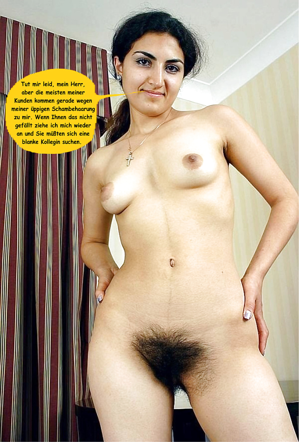 Hairy natural nude muslim — img 14