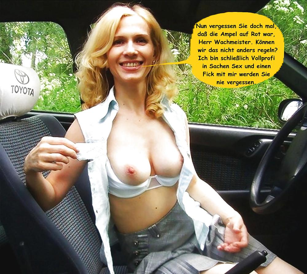 Blonde amateur german public