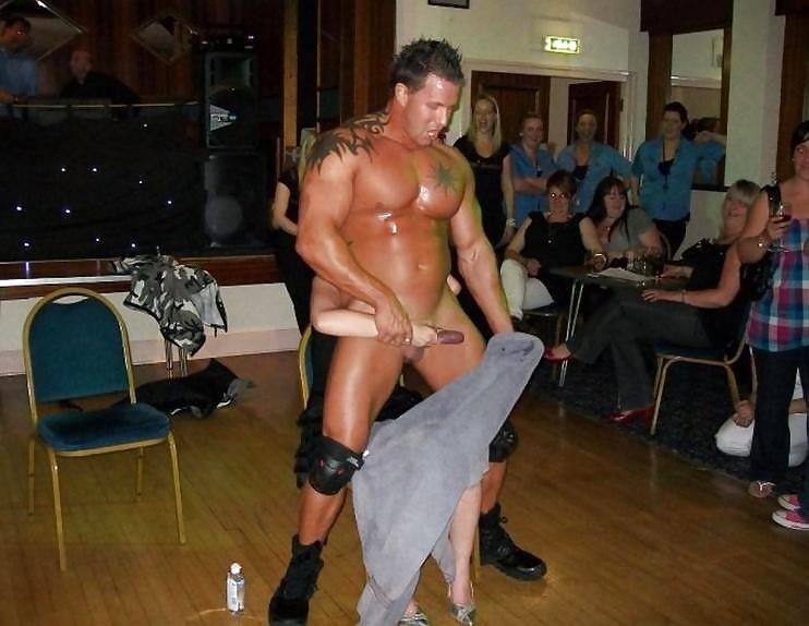 Girls party male stripper