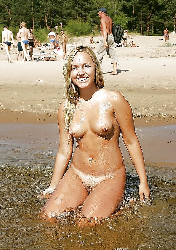 Danish nudist beach