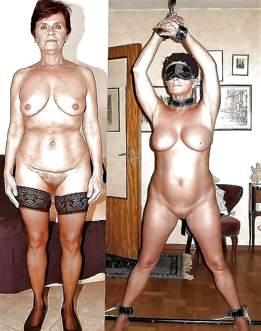 Naked granny sex slaves