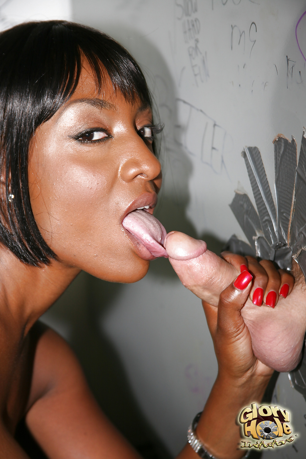 Ebony gloryhole porn and black sex galery pics