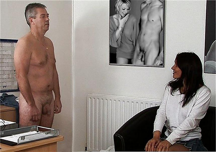Man has never seen before such a busty ebony nurse