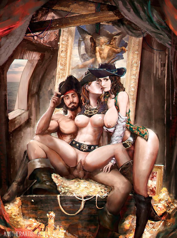 Голая пиратка порно фото, порно массаж как довести до струйного оргазма