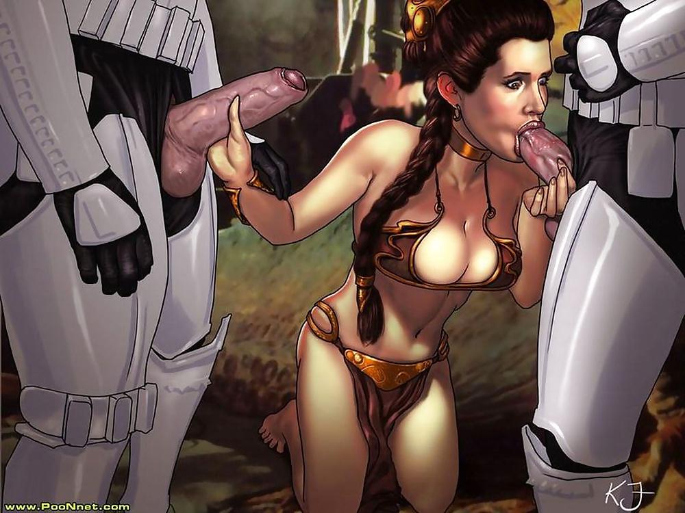I Don't Want Sexy Leia Comics