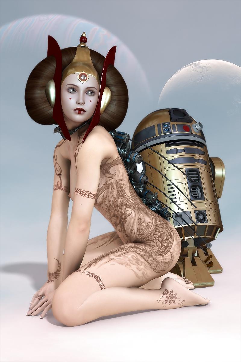 Star wars hentai padme amidala porn