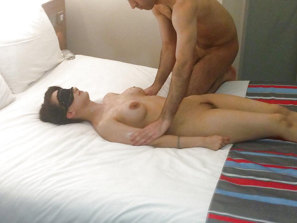 Erotic massage with orgasm