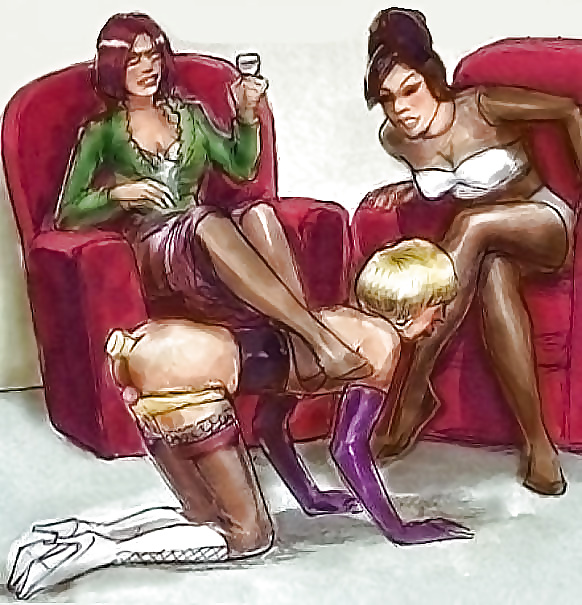 Maid femdom captions